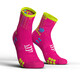 Compressport Pro Racing V3.0 Run High Hardloopsokken roze
